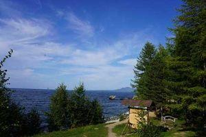 Ấn tượng trước vẻ đẹp của hồ Baikal, Nga
