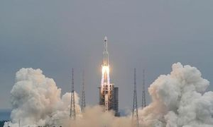 Mỹ đang theo dõi sát tên lửa Trung Quốc 'quay trở lại Trái đất'