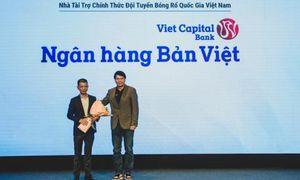 Bản Việt tài trợ chính thức cho đội tuyển bóng rổ mam - nữ 5x5 và 3x3