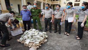 Nam Định: Tiêu hủy số lượng lớn ma túy, và tài sản, tang vật trong các vụ án hình sự