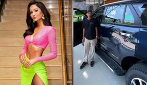 Hết xây nhà, hoa hậu H'Hen Niê mua xế hộp bạc tỷ tặng ba mẹ