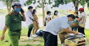 55 người ở TP Biên Hòa bị xử phạt vì không đeo khẩu trang nơi công cộng