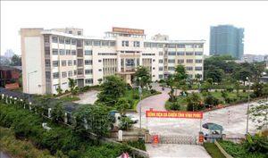 Kích hoạt lại Bệnh viện dã chiến tỉnh Vĩnh Phúc để phòng, chống COVID-19