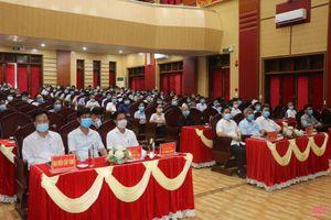 Ứng cử viên đại biểu HĐND tỉnh tiếp xúc cử tri huyện Vĩnh Lộc