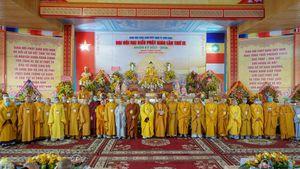Đồng Nai: Thượng tọa Thích Minh Trí được suy cử Trưởng ban Trị sự Phật giáo TP.Biên Hòa