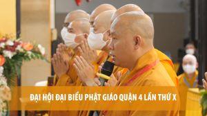 Đại hội đại biểu Phật giáo quận 4 lần thứ X nhiệm kỳ 2021-2026