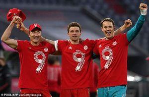 Bayern Munich vô địch Bundesliga sớm 2 vòng đấu