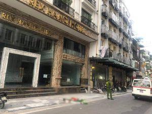 Hà Nội: Người đàn ông nhảy từ nóc khách sạn 11 tầng xuống đất tử vong