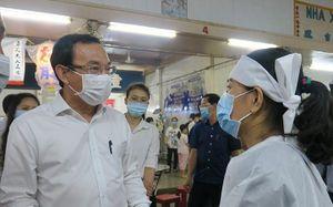 Lãnh đạo TP.HCM thăm, viếng gia đình nạn nhân vụ cháy khiến 8 người tử vong