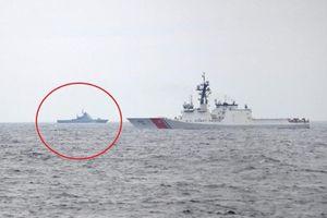 Chiến hạm Nga bám sát tàu tuần duyên Mỹ trên Biển Đen