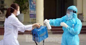 Hưng Yên ghi nhận thêm 2 ca dương tính SARS-CoV-2 là mẹ con