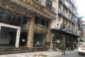 Cảnh sát Hà Nội điều tra vụ người đàn ông nhảy lầu trên phố Gia Ngư