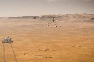 Trực thăng sao Hỏa lập mốc kỷ lục, bay đến địa điểm mới