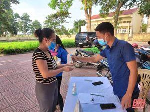 Huyện Quảng Xương siết chặt công tác phòng, chống dịch COVID-19 tại các cơ sở kinh doanh dịch vụ, điểm du lịch