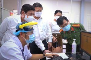 Chủ tịch TP.HCM kiểm tra đột xuất Bệnh viện Chợ Rẫy