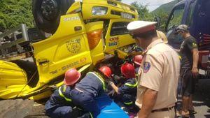 Bình Định: Tai nạn giao thông nghiêm trọng, 2 người tử vong tại chỗ