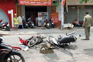 2 xe máy tông trực diện ở Gò Vấp, 3 người bị thương