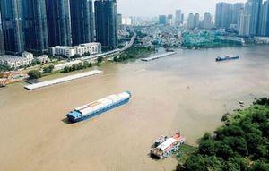 Hạn chế giao thông đường thủy trên sông Sài Gòn để phục vụ huấn luyện nghiệp vụ