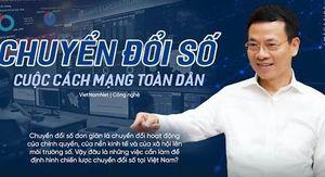 Sứ mệnh mới của Bộ TT&TT: Dẫn dắt chuyển đổi số quốc gia, xây dựng một Việt Nam số