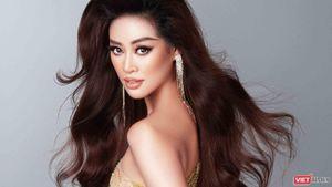 Hoa hậu Khánh Vân khoe dáng nõn nà trước thềm bán kết Miss Universe