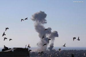Gaza tiếp tục rung chuyển vì bom đạn