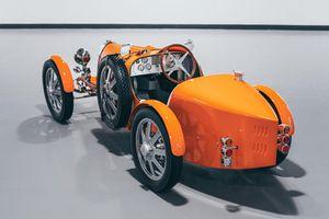 Chiếc Bugatti Baby II cho trẻ em có giá đắt hơn Ford Mustang