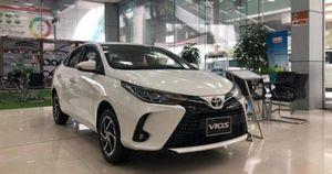 Giảm giá kịch sàn, lăn bánh Toyota Vios chỉ từ 538 triệu đồng