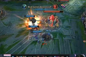 Pha backdoor của RNG khi C9 ăn Baron