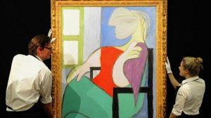 Bức 'Nàng thơ' của Picasso được bán với giá 103 triệu USD