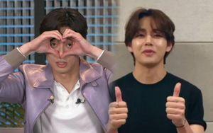 V (BTS) nói gì trong ngày trọng đại của 'anh trai mưa' Park Seo Joon?