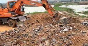 Phát hiện doanh nghiệp Trung Quốc chôn lấp trái phép hơn 100 tấn chất thải
