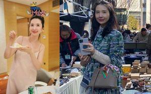 Qua ống kính của netizen, vợ chủ tịch Taobao để lộ nhan sắc 'in hằn dấu vết thời gian'