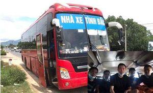 Phát hiện 5 người Trung Quốc trốn trong thùng carton trên xe khách