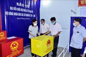 Hội đồng Bầu cử Quốc gia đồng ý cho tỉnh Bạc Liêu có khu vực bỏ phiếu sớm