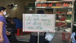 Thành phố Hồ Chí Minh: Quán ăn vỉa hè chỉ bán mang về