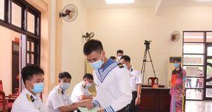 Cử tri huyện đảo Trường Sa náo nức đi bầu cử