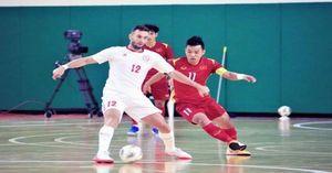 Hòa Lebanon, tuyển Futsal Việt Nam giành ưu thế tranh vé dự World Cup