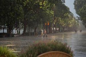 Cả nước có mưa dông diện rộng