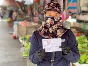 Bắc Ninh phát thẻ cho người dân đi chợ