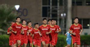 Những hình ảnh của đội tuyển Việt Nam trong buổi tập đầu tiên tại UAE