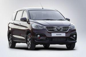 Toyota chuẩn bị ra mắt xe 7 chỗ phát triển từ Suzuki Ertiga