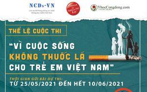 Vì cuộc sống không thuốc lá cho trẻ em Việt Nam