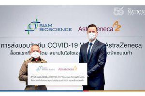 AstraZeneca xuất xưởng lô vaccine Covid-19 đầu tiên sản xuất tại Thái Lan