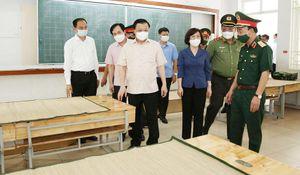 Bí thư Thành ủy Hà Nội: Siết chặt quản lý, nâng cao chất lượng tất cả điểm cách ly
