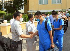 Y, bác sỹ Hải Phòng xung phong lên đường hỗ trợ Bắc Giang chống dịch