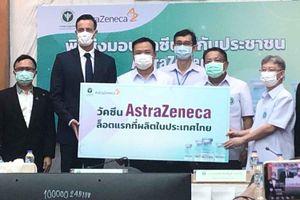 Thái Lan tiếp nhận 1,8 triệu liều vaccine AstraZeneca sản xuất trong nước đầu tiên
