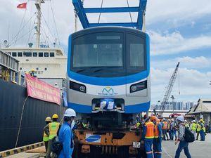 Một tuần nữa tàu metro số 1 sẽ tiếp tục về đến Việt Nam