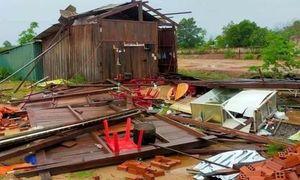Đắk Lắk: Mưa lớn kèm gió lốc khiến nhiều phòng học, nhà dân tốc mái