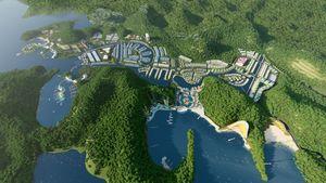 Vinaconex muốn huy động 2.200 tỉ đồng cho 'siêu dự án' Cát Bà Amatina