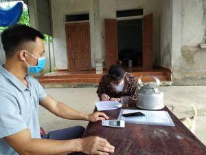 Vi phạm cách ly y tế, người đàn ông ở Hà Tĩnh bị phạt 2 triệu đồng